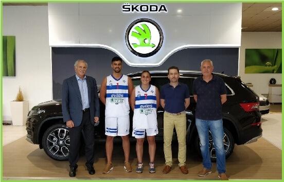 Alecar Skoda patrocinador de la Atlética Avilesina