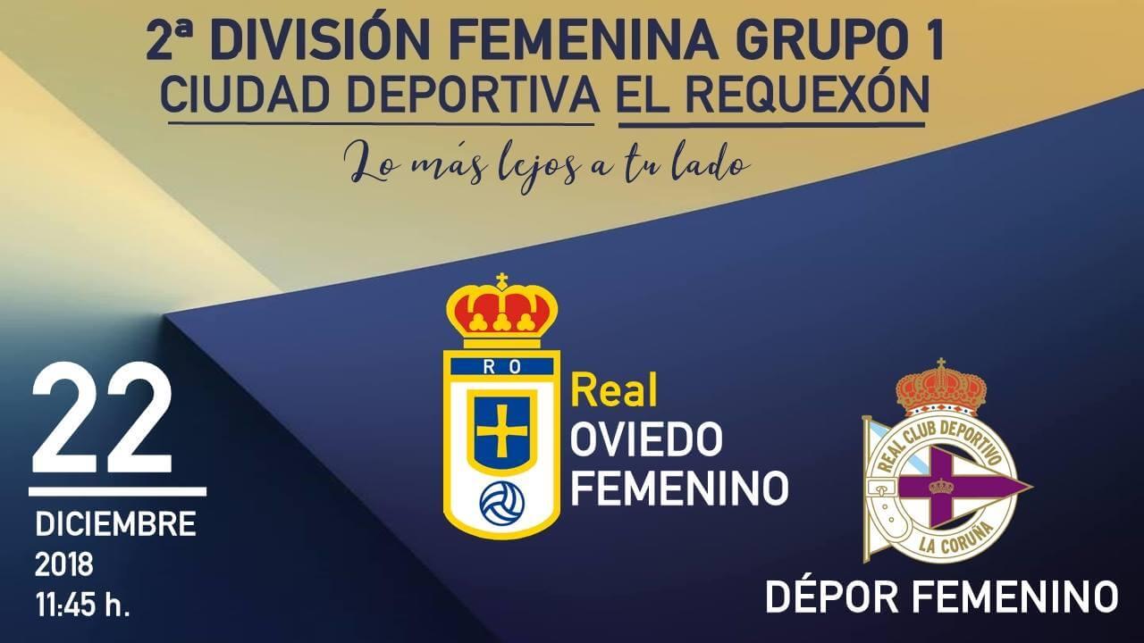 Real Oviedo Femenino frente a Dépor Femenino