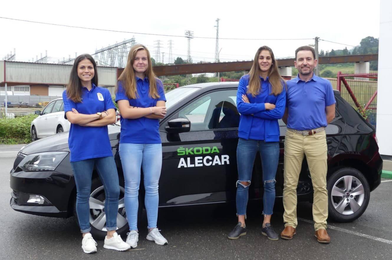 Real Oviedo Femenino con Alecar Skoda
