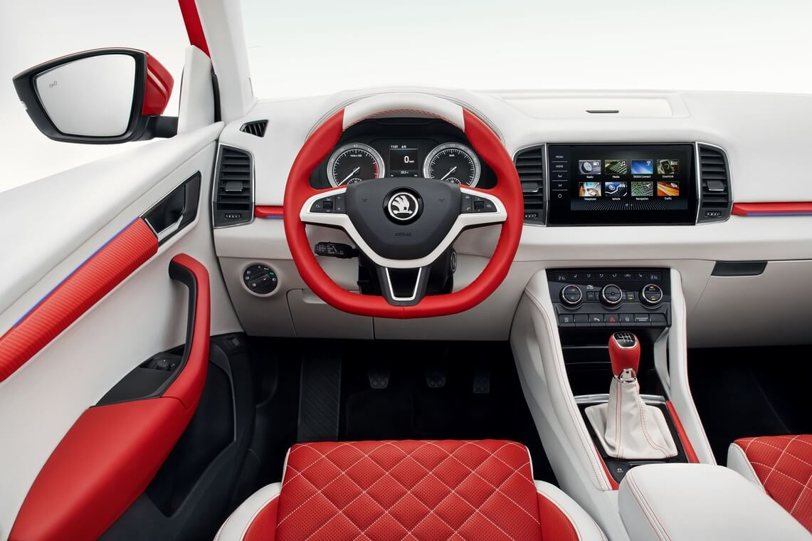 Interior Skoda Sunroq